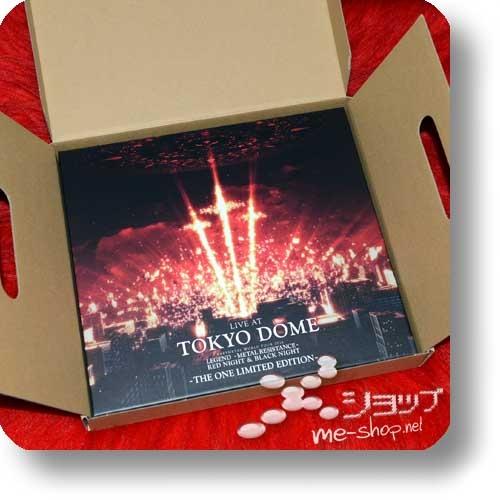 "BABYMETAL - LIVE AT TOKYO DOME (lim. ""THE ONE"" 6-Disc FC-Boxset 4CD+2Blu-ray+Photobook!) +Bonus-Bandana! (Re!cycle)-23855"