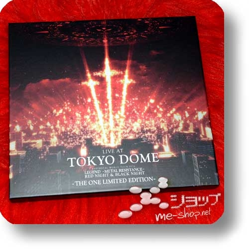 "BABYMETAL - LIVE AT TOKYO DOME (lim. ""THE ONE"" 6-Disc FC-Boxset 4CD+2Blu-ray+Photobook!) +Bonus-Bandana! (Re!cycle)-23854"