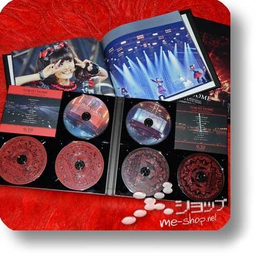 "BABYMETAL - LIVE AT TOKYO DOME (lim. ""THE ONE"" 6-Disc FC-Boxset 4CD+2Blu-ray+Photobook!) +Bonus-Bandana! (Re!cycle)-23853"