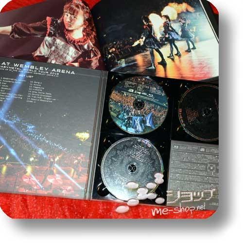 "BABYMETAL - LIVE AT WEMBLEY ARENA (lim. ""THE ONE"" FC-Boxset 2CD+Blu-ray+Photobook!) +Bonus-Bandana! (Re!cycle)-23840"