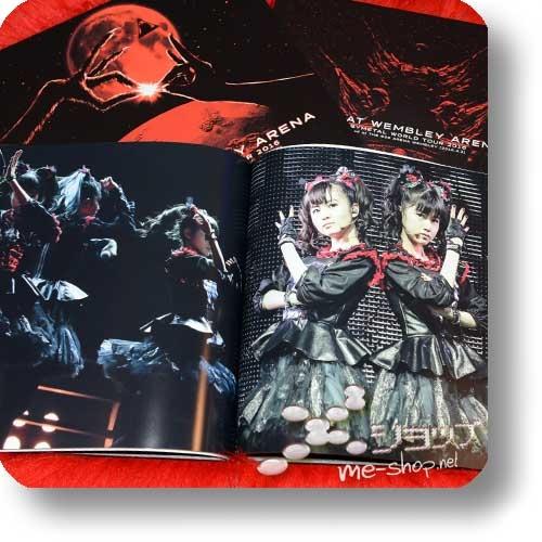 "BABYMETAL - LIVE AT WEMBLEY ARENA (lim. ""THE ONE"" FC-Boxset 2CD+Blu-ray+Photobook!) +Bonus-Bandana! (Re!cycle)-23838"