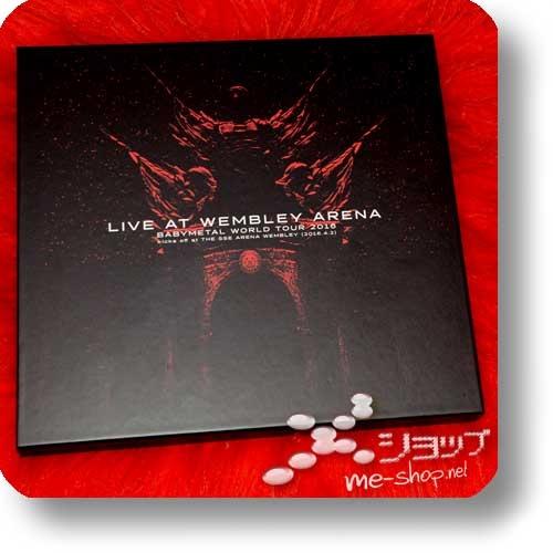 "BABYMETAL - LIVE AT WEMBLEY ARENA (lim. ""THE ONE"" FC-Boxset 2CD+Blu-ray+Photobook!) +Bonus-Bandana! (Re!cycle)-23841"