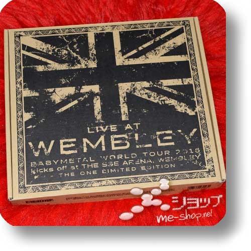 "BABYMETAL - LIVE AT WEMBLEY ARENA (lim. ""THE ONE"" FC-Boxset 2CD+Blu-ray+Photobook!) +Bonus-Bandana! (Re!cycle)-23843"