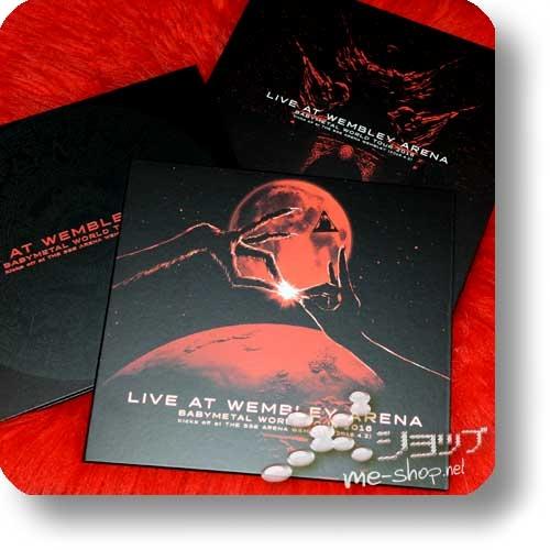 "BABYMETAL - LIVE AT WEMBLEY ARENA (lim. ""THE ONE"" FC-Boxset 2CD+Blu-ray+Photobook!) +Bonus-Bandana! (Re!cycle)-23839"
