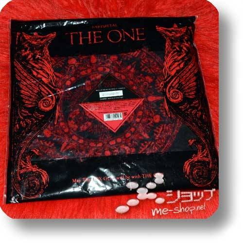 "BABYMETAL - lim. ""THE ONE"" Hood Towel ca. 120 cm / original FC-Merchandise! (Re!cycle)-0"