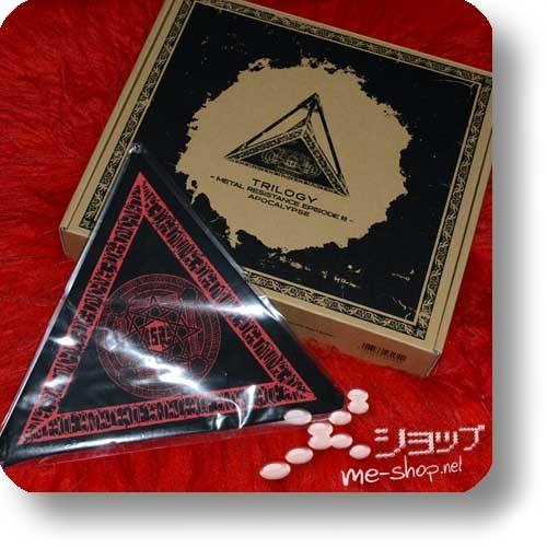 "BABYMETAL - TRILOGY -METAL RESISTANCE EPISODE III- APOCALYPSE (lim. ""THE ONE"" FC-Boxset 3Blu-ray+Photobook!) +Bonus-Bandana! (Re!cycle)-0"