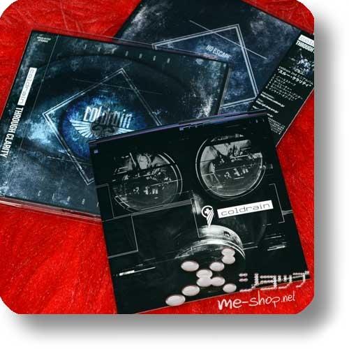 coldrain - THROUGH CLARITY (Digipak+Bonus-Sticker) (Re!cycle)-0