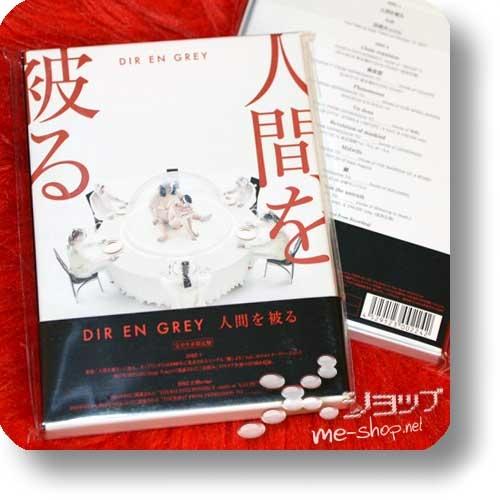 DIR EN GREY - Ningen wo kaburu (lim.Box CD+Live-Blu-ray+Bonus)-0