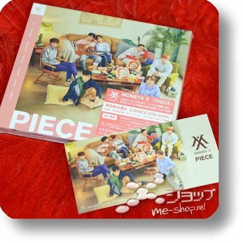 MONSTA X - PIECE (lim.CD+DVD A-Type) +Bonus-Fotosticker!-0
