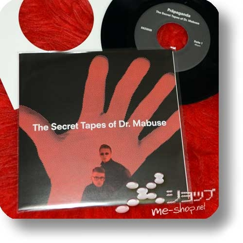 """PRÄPAGANDA - The Secret Tapes Of Dr. Mabuse (7""""-Single+3""""/8cm-CD double package) feat. Ralf Dörper, Andreas Thein-23911"""
