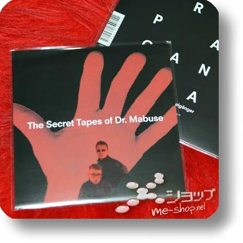 """PRÄPAGANDA - The Secret Tapes Of Dr. Mabuse (7""""-Single+3""""/8cm-CD double package) feat. Ralf Dörper, Andreas Thein-23914"""