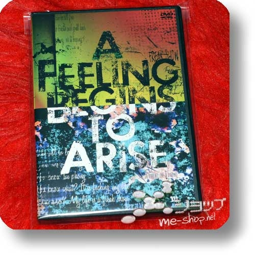 AKI - A FEELING BEGINS TO ARISE (live / lim.2DVD / SID) (Re!cycle)-0