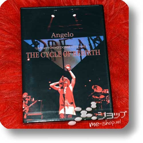 ANGELO - LIVE at TOKYO DOME CITY HALL THE CYCLE OF REBIRTH (2DVD)-0
