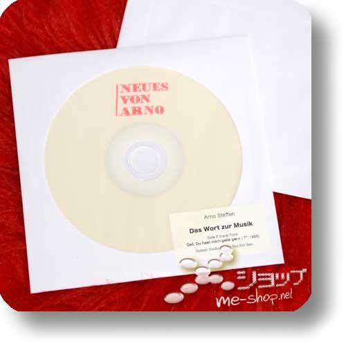 ARNO STEFFEN - SCHLAGER (Double Package Reissue 2018 / 180g Clear Vinyl LP lim./num.200 + CD Papersleeve lim.300!) +exklusive Bonus-CD-R +handsignierte Postkarte!-24078
