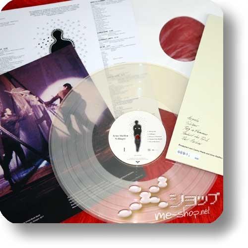 ARNO STEFFEN - SCHLAGER (Double Package Reissue 2018 / 180g Clear Vinyl LP lim./num.200 + CD Papersleeve lim.300!) +exklusive Bonus-CD-R +handsignierte Postkarte!-24076