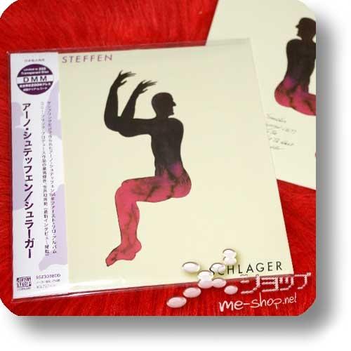 ARNO STEFFEN - SCHLAGER (Double Package Reissue 2018 / 180g Clear Vinyl LP lim./num.200 + CD Papersleeve lim.300!) +exklusive Bonus-CD-R +handsignierte Postkarte!-0