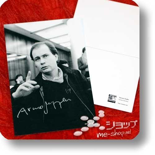 ARNO STEFFEN - SCHLAGER (Double Package Reissue 2018 / 180g Clear Vinyl LP lim./num.200 + CD Papersleeve lim.300!) +exklusive Bonus-CD-R +handsignierte Postkarte!-24079