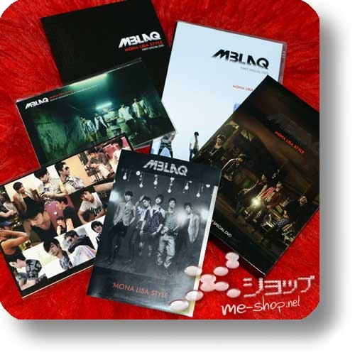 MBLAQ - MONA LISA STYLE (FC-Package 2DVD+Photobook+Clearfile+2Stickerbogen+Fotokartenset) (Re!cycle)-0