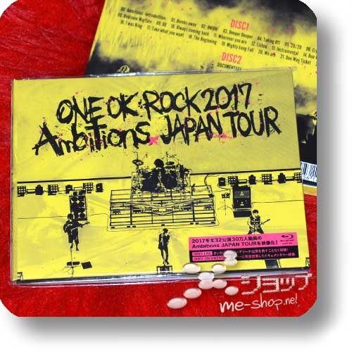 ONE OK ROCK - 2017 Ambitions JAPAN TOUR (2BLU-RAY / lim.Digibook)-0