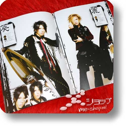 PEACE & SMILE CARNIVAL TOUR 2005 - Original Pamphlet (Gazette, miyavi, Kagrra,, Alice Nine, kra...) (Re!cycle)-24307