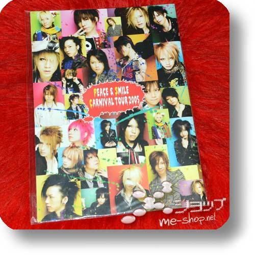 PEACE & SMILE CARNIVAL TOUR 2005 - Original Pamphlet (Gazette, miyavi, Kagrra,, Alice Nine, kra...) (Re!cycle)-0