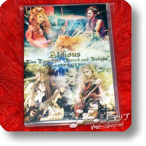 """ALDIOUS - Live Tour 2014 """"Dazed and Delight"""" ~Live at CLUB CITTA'~ (DVD)-24462"""