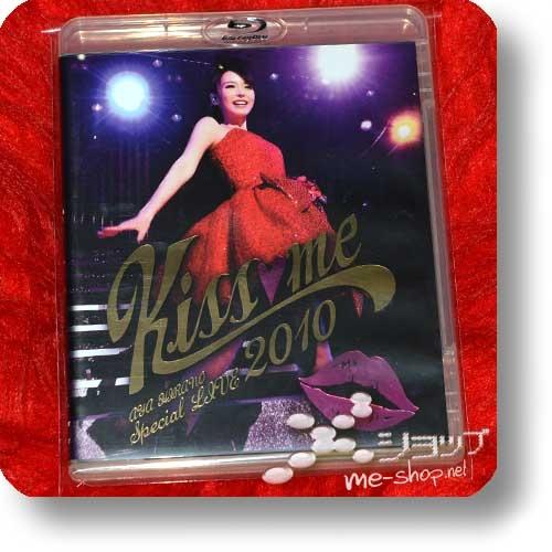 AYA HIRANO - SPECIAL LIVE 2010 Kiss me (lim.Blu-ray+Bonus-DVD) (Re!cycle)-0