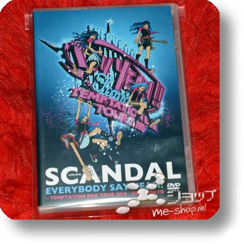 SCANDAL - EVERYBODY SAY YEAH! -TEMPTATION BOX TOUR 2010- ZEPP TOKYO (Live-DVD) (Re!cycle)-0