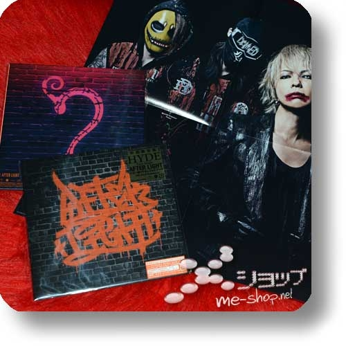 HYDE - AFTER LIGHT (lim.CD+EP size concept photo booklet) +Bonus-Promoposter!-0