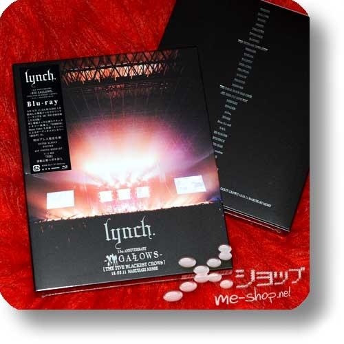 lynch. - 13th ANNIVERSARY -XIII GALLOWS- [THE FIVE BLACKEST CROWS] 18.03.11 MAKUHARI MESSE (Blu-ray 1.Press Digipak+Photobook)-0