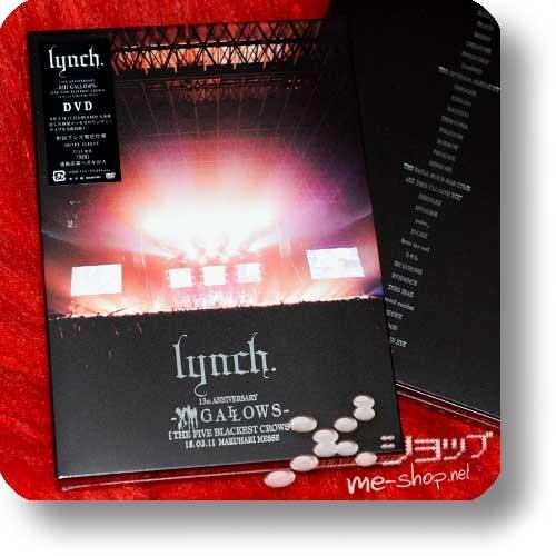 lynch. - 13th ANNIVERSARY -XIII GALLOWS- [THE FIVE BLACKEST CROWS] 18.03.11 MAKUHARI MESSE (DVD / 1.Press)-0