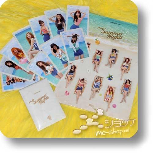 TWICE - Summer Nights (2nd Special Album / lim.CD+Photobook B-Type / ORIG.KOREA) +10-tlg.Tradingcardset!-0