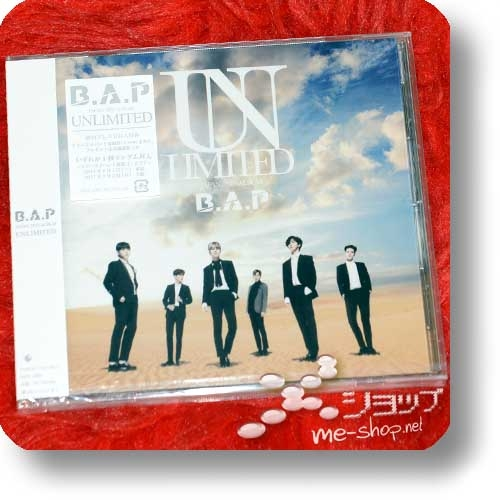 B.A.P - UNLIMITED (JAPAN 2ND ALBUM) (Re!cycle)-0