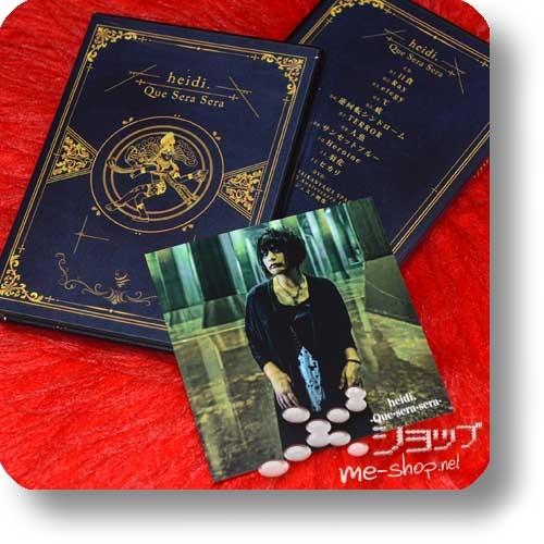 heidi. - Que Sera Sera (lim.CD+DVD Type-A) +Bonus-Fotokarte!-0