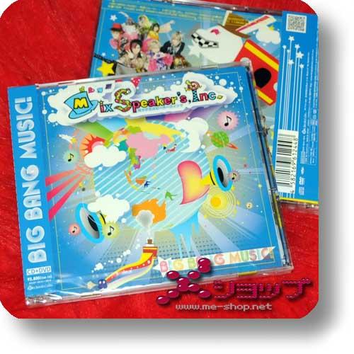 MIX SPEAKER'S INC. - BIG BANG MUSIC! LIM-CD+DVD (Re!cycle)-0
