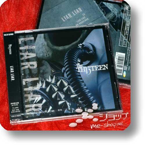 THE THIRTEEN - LIAR.LIAR. (LIM.CD+DVD B-Type) (TH13TEEN / Sadie)-0