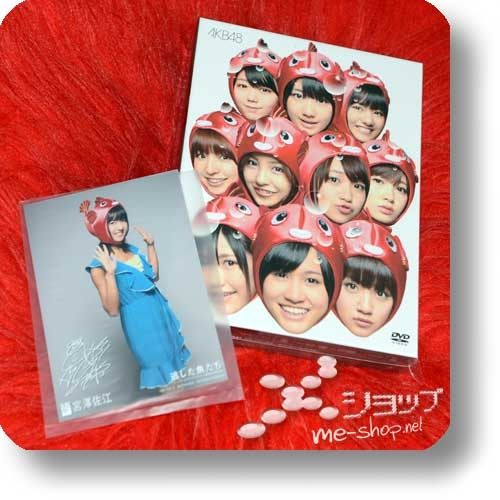 AKB48 - Nogashita Sakanatachi ~Single Video Collection~ (LIM.EDITION 3DVD+Bonus-Photocard) (Re!cycle)-0