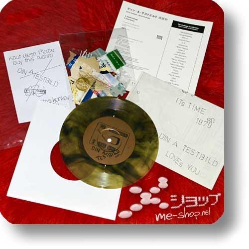 "DIN A TESTBILD - Abfall/Garbage (2018 Remastered 7"" Colored Vinyl Reissue / lim./num.300!)-24976"