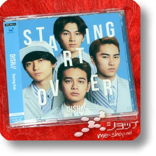 DISH// - Starting Over (lim.CD+DVD B-Type / ZoidWild) (Re!cycle)-0