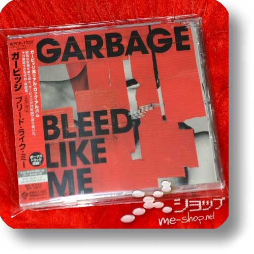 GARBAGE - Bleed Like Me (Japan-Pressung inkl.Bonustrack!) (Re!cycle)-0
