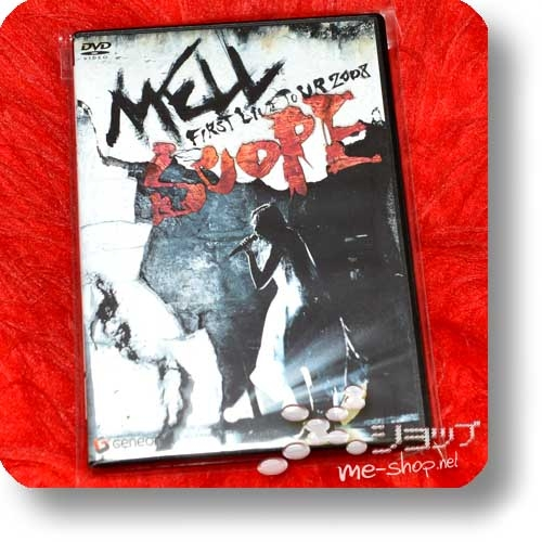 MELL - FIRST LIVE TOUR 2008 SCOPE (DVD) (Re!cycle)-0
