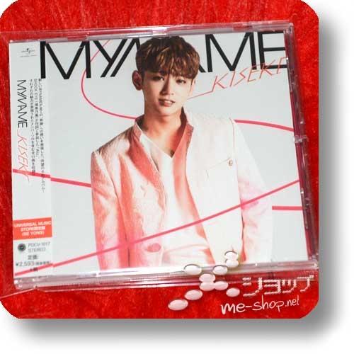 MYNAME - KISEKI (Japan 6th Album / lim. SE YONG ban / MO only!) (Re!cycle)-0