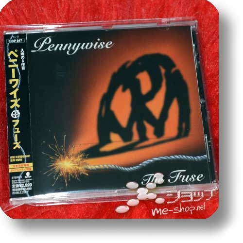 PENNYWISE - The Fuse (Japan-Pressung inkl.Bonustrack!) (Re!cycle)-0
