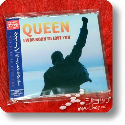 """QUEEN - I WAS BORN TO LOVE YOU (Japan-Pressung / 3""""/8cm-CD Reissue 2004) (Re!cycle)-0"""