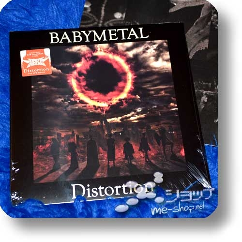 "BABYMETAL - DISTORTION (LIM.500 COPIES / RED VINYL 12"" / analog) (Deutsche Pressung)-0"