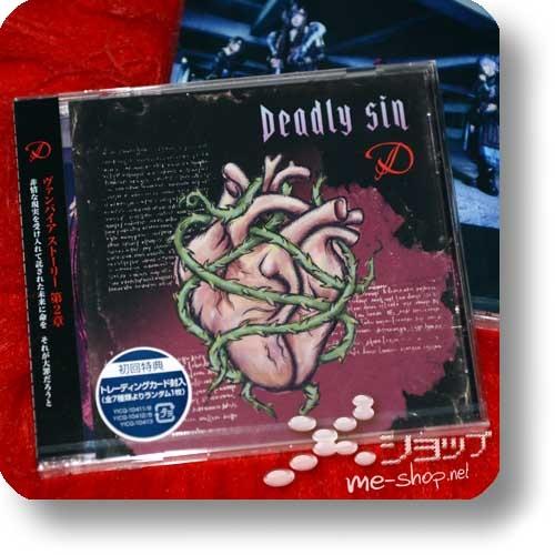 D - Deadly sin (inkl.Bonustrack / lim.1.Press inkl.Tradingcard)-0