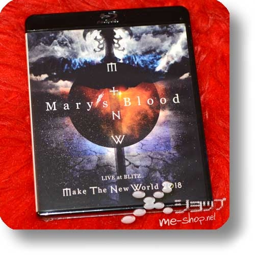 MARY'S BLOOD - LIVE at BLITZ ~Make The New World Tour 2018~ (Blu-ray)-0