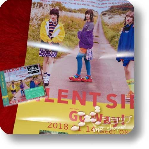 SILENT SIREN - Go Way! (lim.1.Press / Shinkansen Henkei Robo Shinkalion) +Bonus-Promoposter!-0