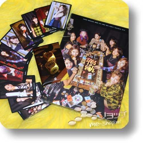 TWICE - Yes or Yes (6th Mini Album / lim.CD+Photobook A-Type / ORIG.KOREA) +10-tlg.Tradingcardset!-0