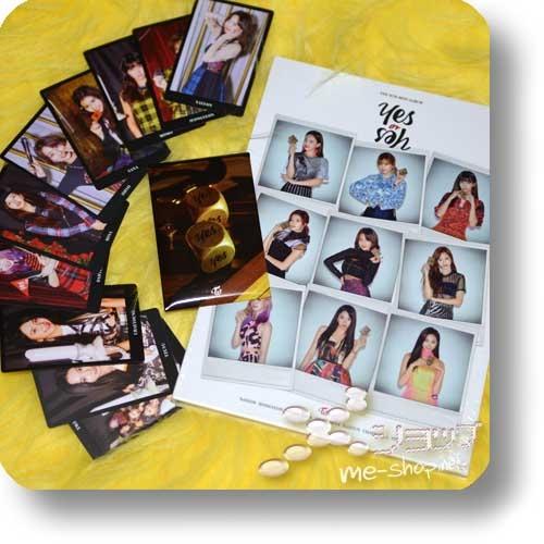 TWICE - Yes or Yes (6th Mini Album / lim.CD+Photobook B-Type / ORIG.KOREA) +10-tlg.Tradingcardset!-0